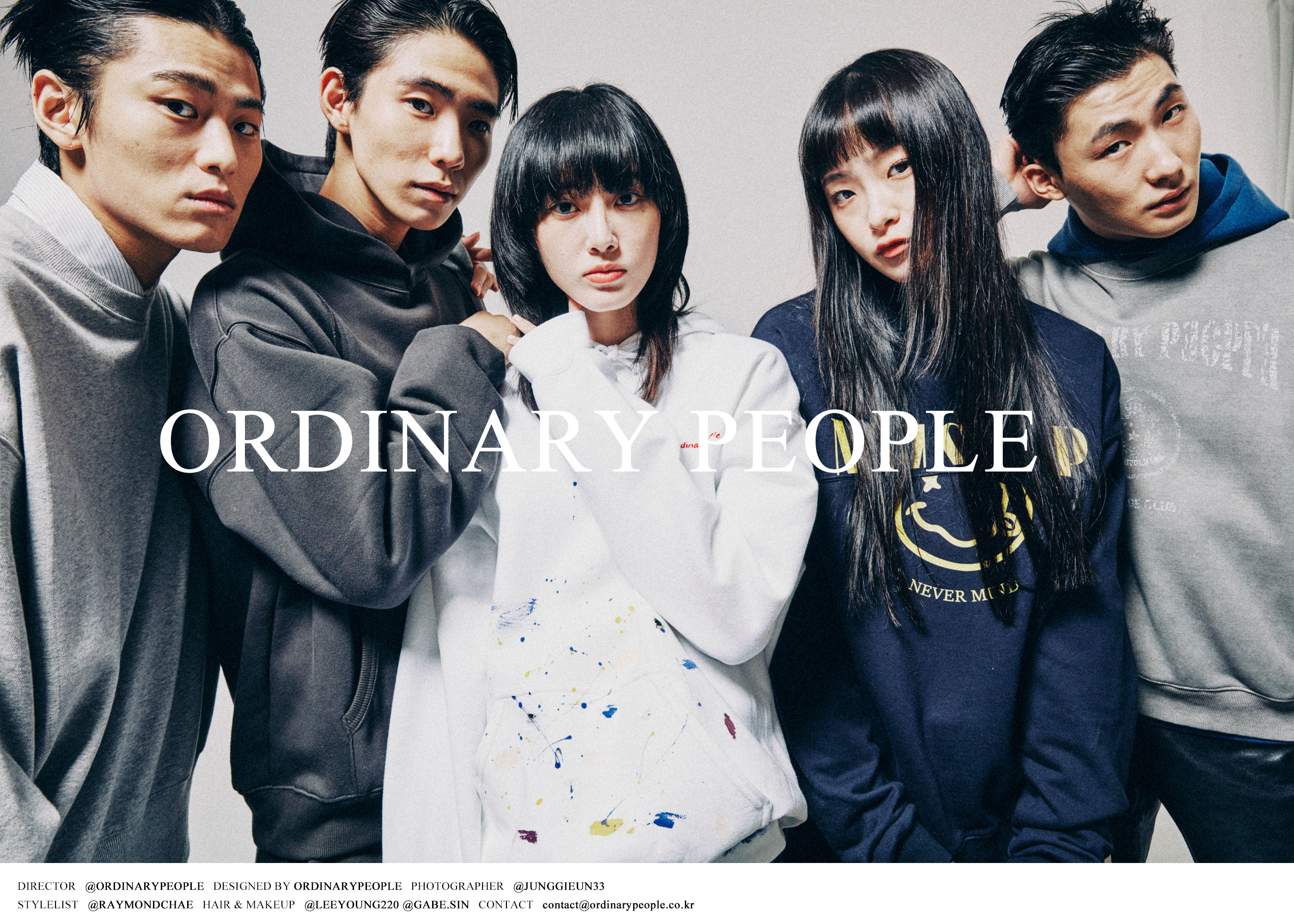 Ordinary People 2021fw 1st delivery Campaign Line
