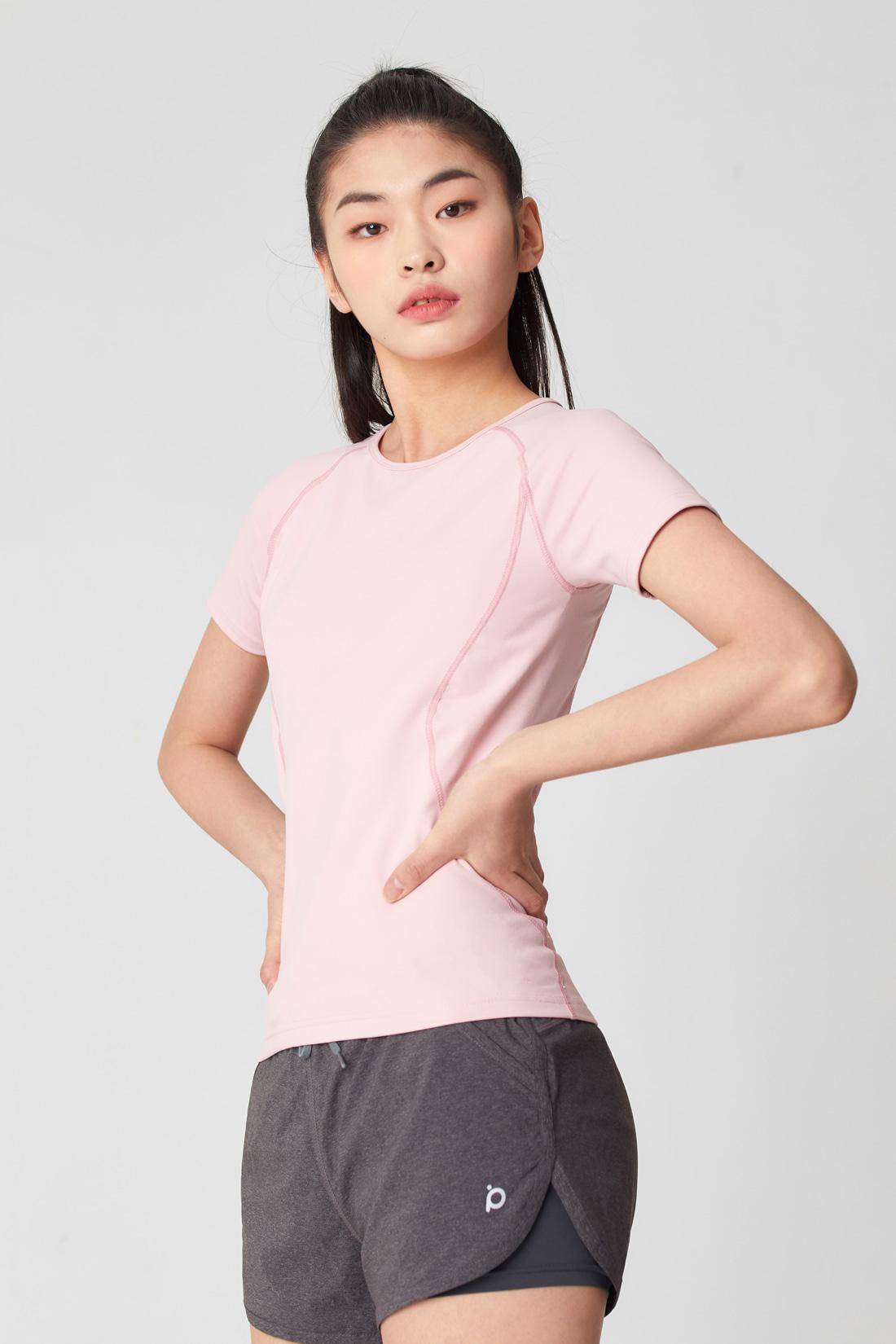 [5차] 글램 티셔츠 라이트핑크 Light pink