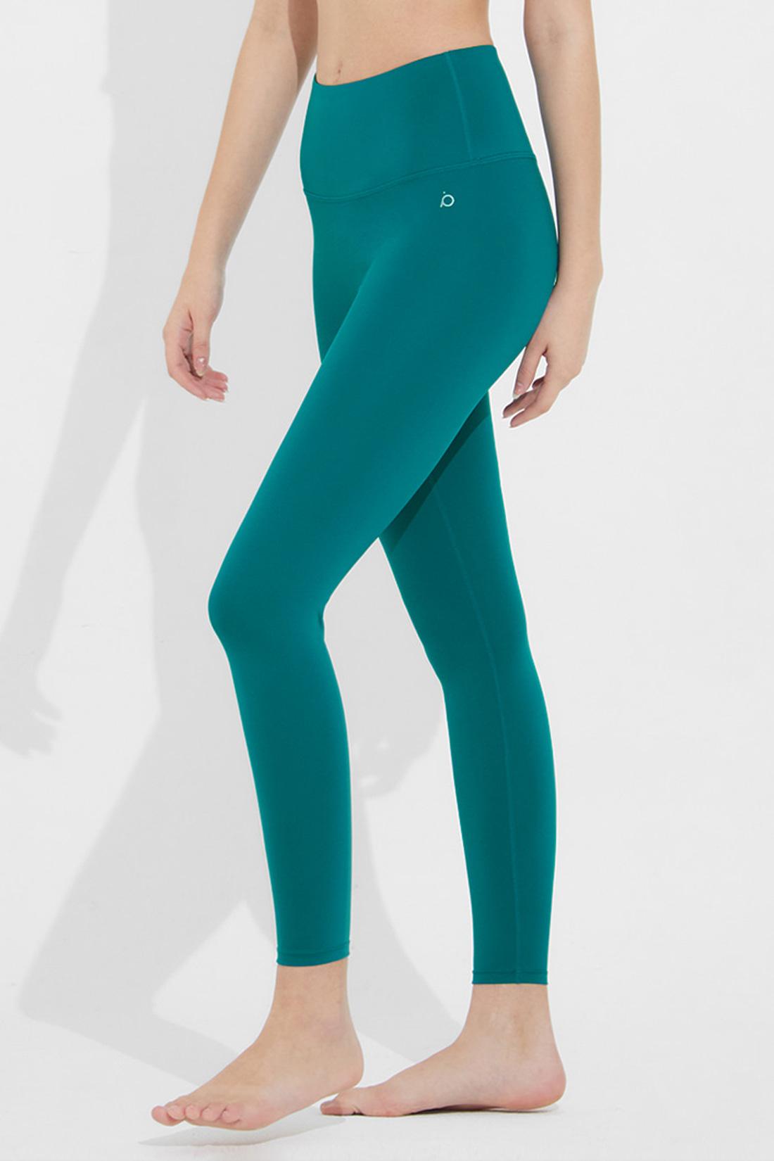 헥사66 에센셜 레깅스 블루그린 Blue green