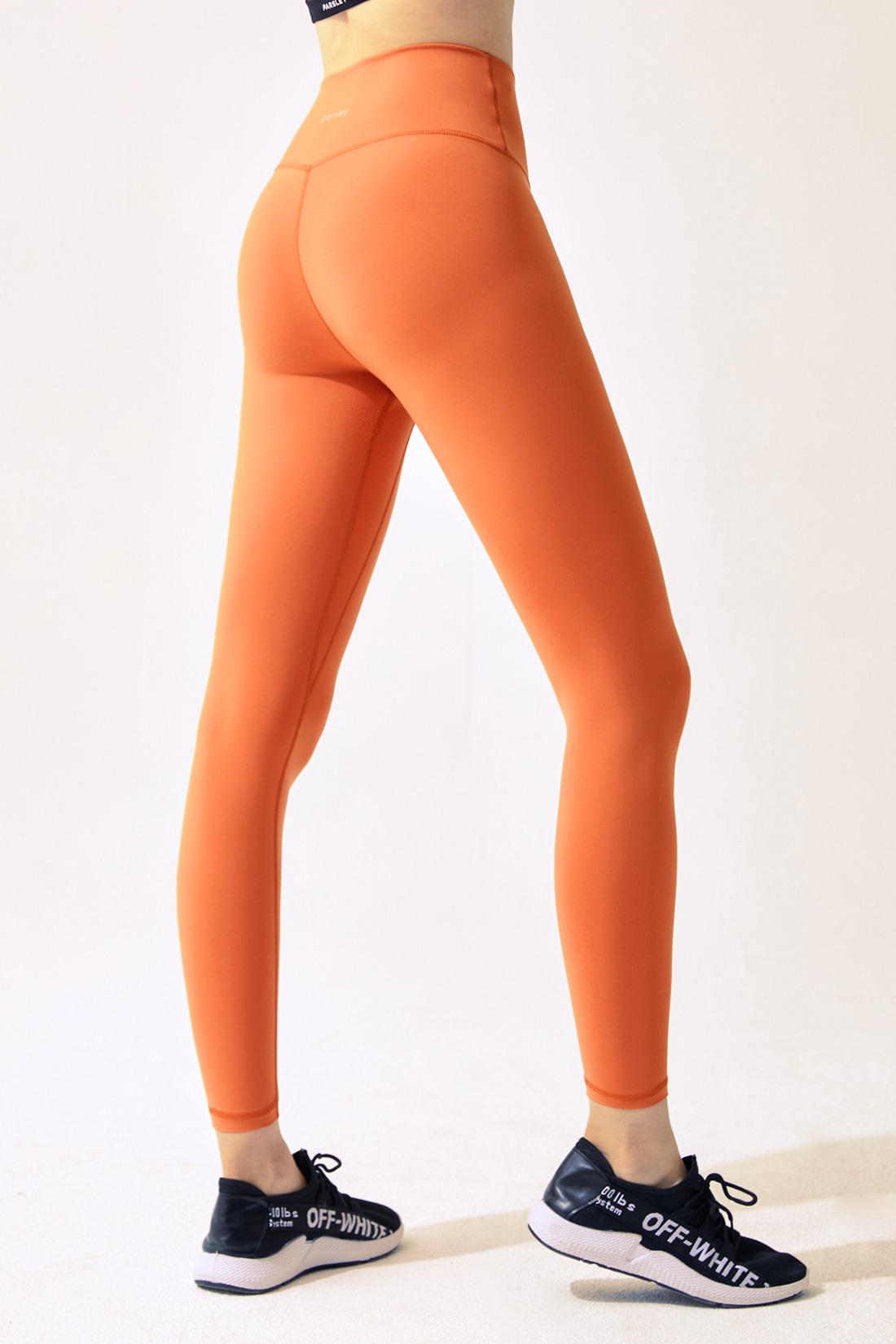 에어브러쉬 베이직 레깅스[9부] 오렌지마멀레이드 Orange Marmalade