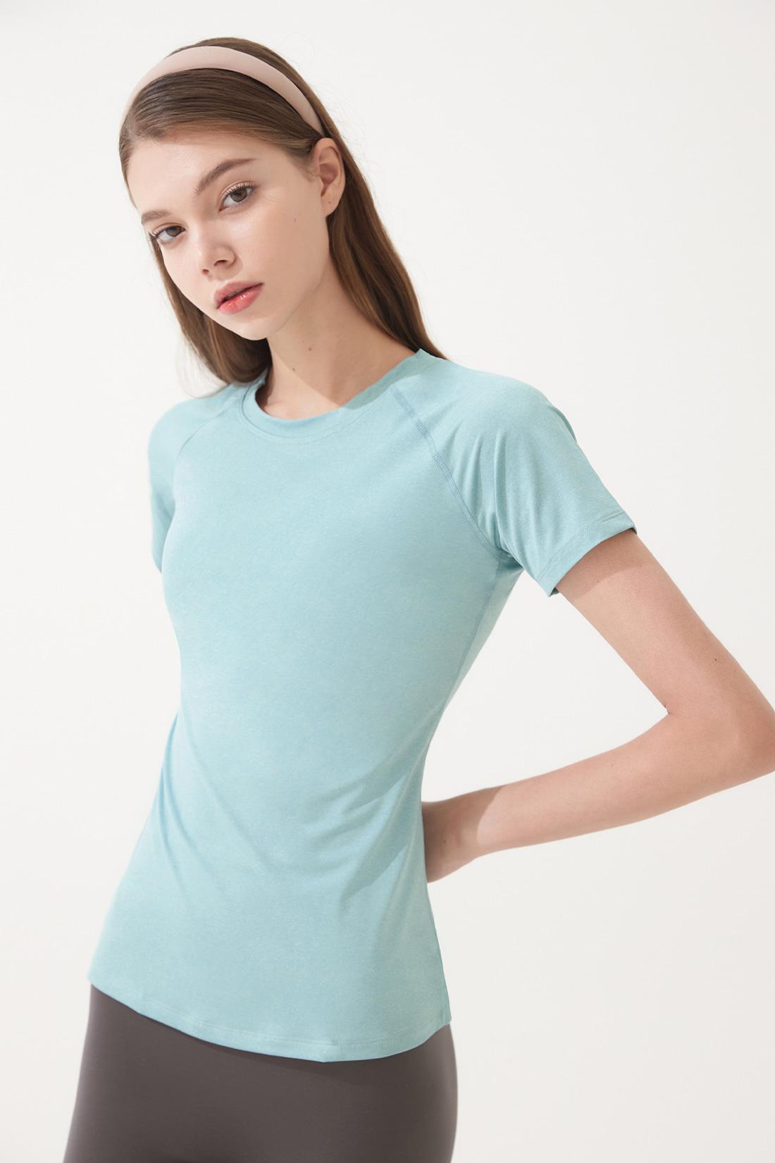 슬릭 티셔츠 스카이블루 Sky Blue