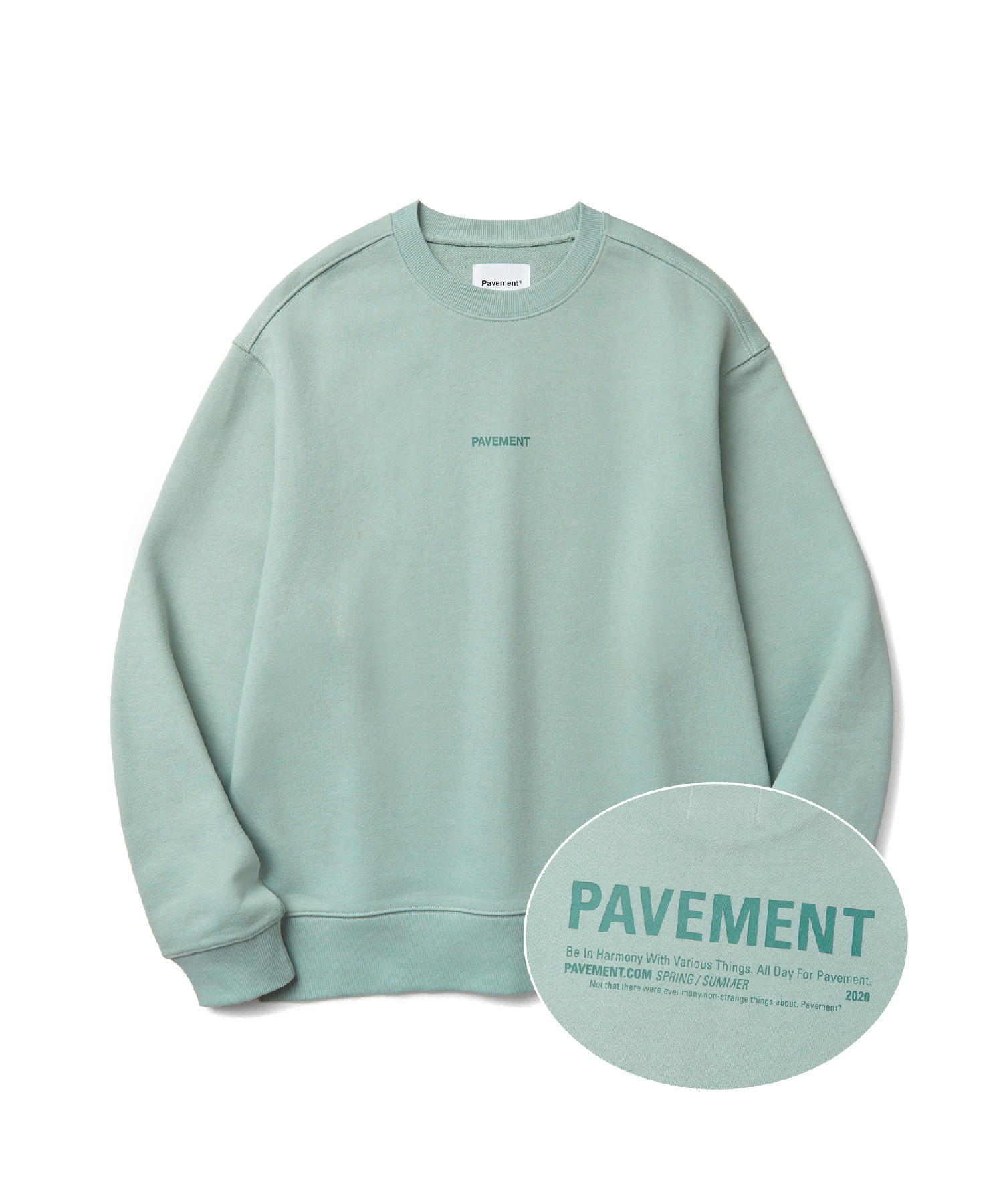 ALL DAY CREWNECK JS [MINT]