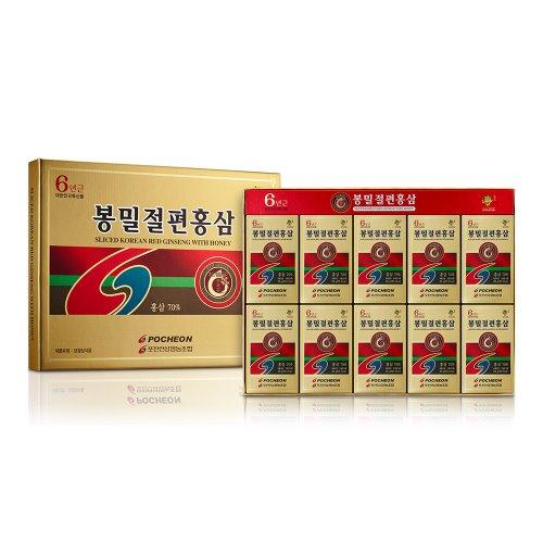 봉밀절편홍삼 (6년근)