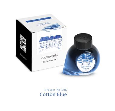 칼라버스 프로젝트 병잉크 Cotton Blue