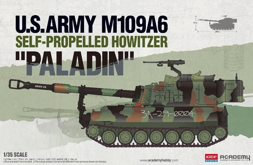 13515  1/35 US Army M109A6 Self-Propelled Howitzer 'Paladin'