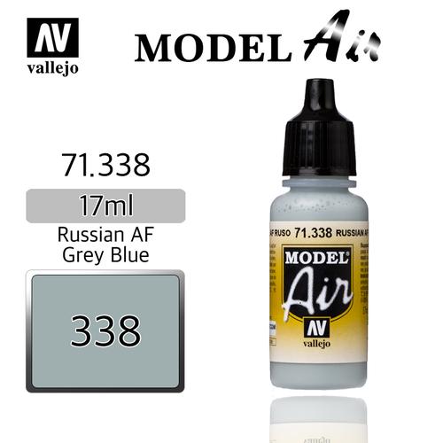 Vallejo _ 71338 Model Air _ Russian AF Grey Blue