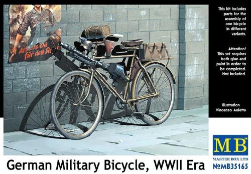 MB35165  1/35 German military bicycle , WW II era