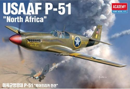 12338  1/48 미육군항공대 P-51 북아프리카 전선