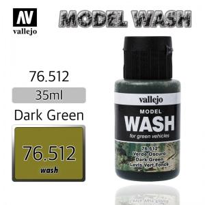 76512 Model Wash _ Dark Green