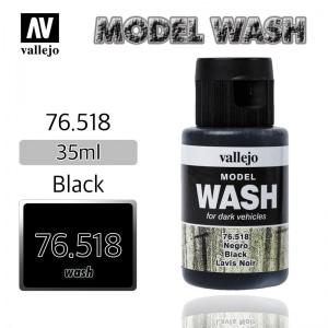 76518 Model Wash _ Black