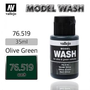 76519 Model Wash _ Olive Green