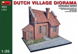 36023 1/35 Dutch Village Diorama