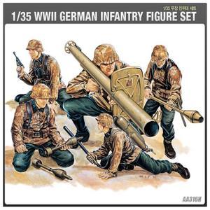 13252 1/35 MINIATURE FIGURES SERIES GERMAN INFANTRY DESTROYER SET 독일무장친위대세트