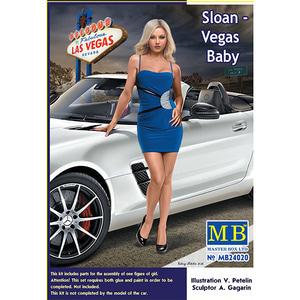 24020  1/24 Dangerus Curves Series, Sloan - Vegas Baby