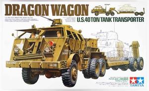 352301/35 US 40ton Tank Transporter Dragon Wagon