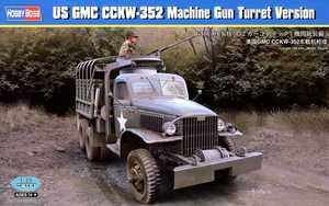 83833  1/35 US GMC CCKW-352 Machine Gun Turret Version