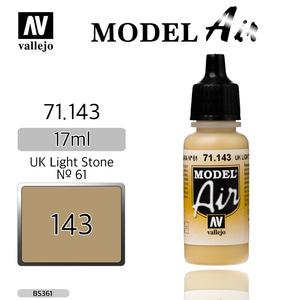 Vallejo _ 71143 Model Air _ UK Light Stone Nº 61