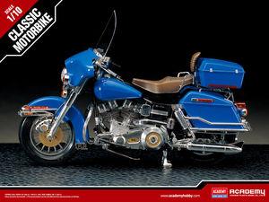 15501  1/10 THE IRON HORSE 80 BIG TWIN 하레이민간용 오토바이