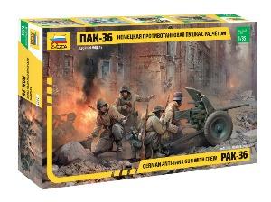 3610 1/35 PAK 36 w/Crew