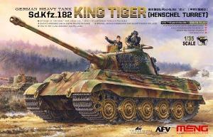 TS-031 1/35 Kingtiger German Heavy Tank Sd.Kfz.182