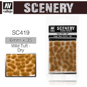 Vallejo _ SC419 Scenery _ Wild Tuft - Dry