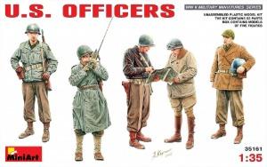 35161 1/35 U.S. Officers  미군 장교 세트