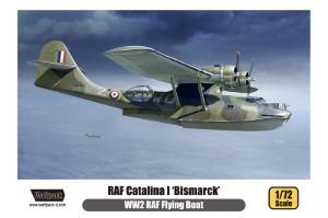 WP17208  1/72 WWII RAF Flying Boat Catalina I 'Bismarck'