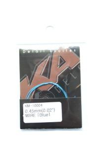KM10004  0.45mm Wire (Blue)