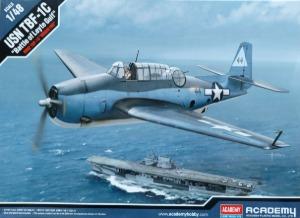 12340  1/48 USN TBF-1C 'Battle of Leyte Gulf'  레이테만 해전