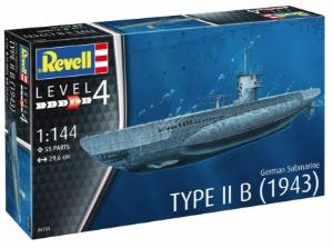5155  1/144 German Submarine Type IIB (1943)