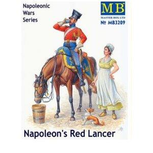 MB3209 1/32 Napoleon's Red Lancer, Napoleonic Wars Series