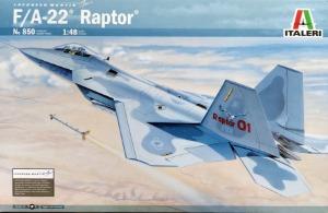 850  1/48 F-22 Raptor
