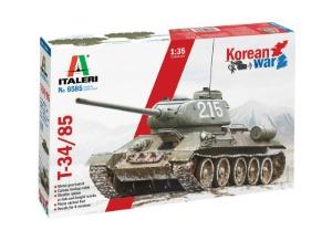 6585  1/35 T-34/85 Korean War