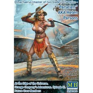 MB24056  1/24 Dimachaerus (master of two blades) Champion – Parsele AKA Helen Parsons
