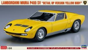 20511 1/24 Lamborghini Miura P400 SV Detail Up Version Yellow Body