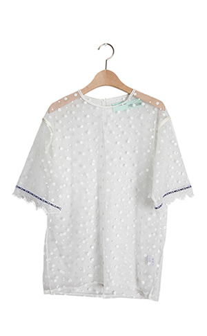 Loopy Mesh Blouse