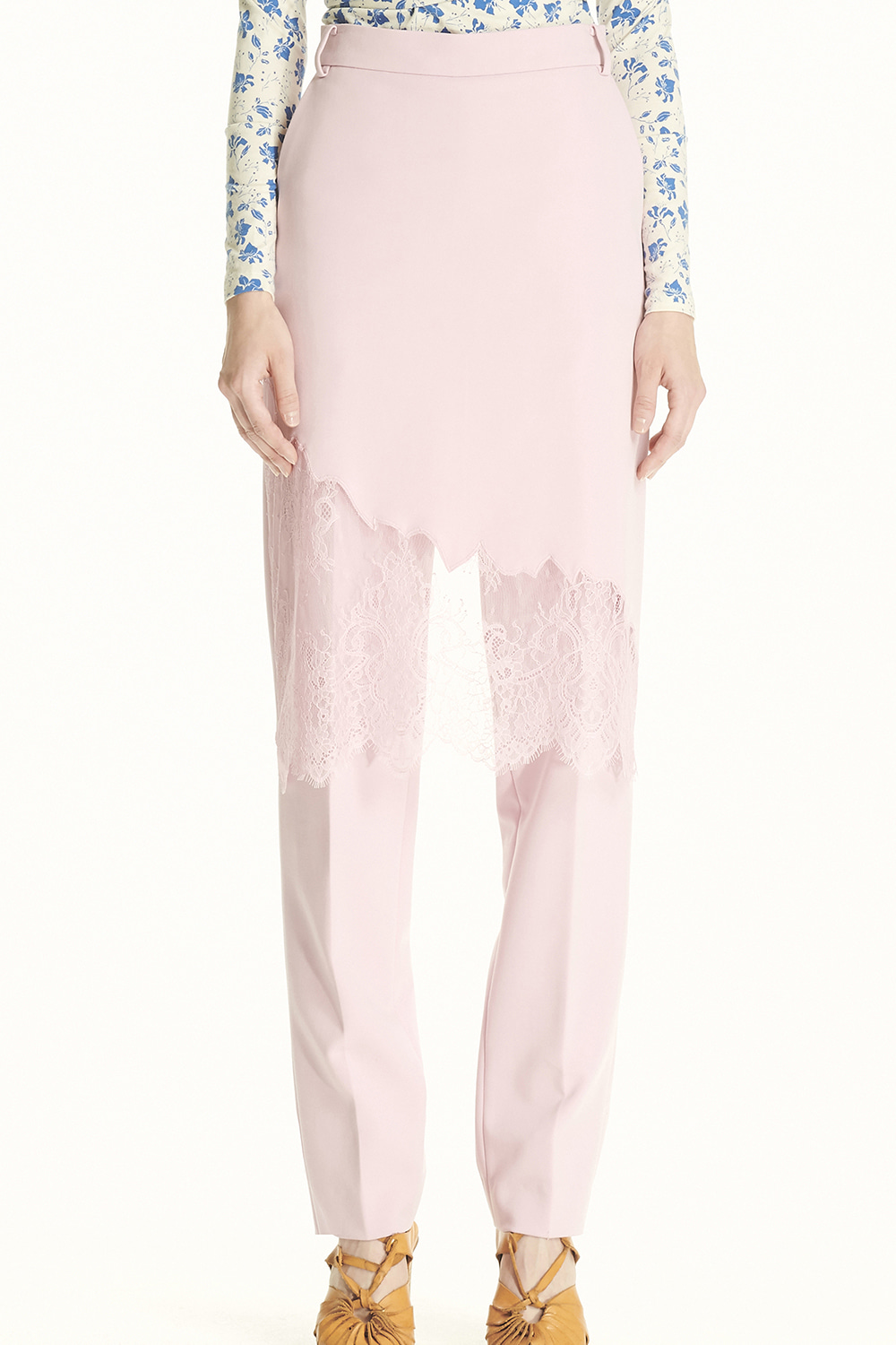 PS21 SKIRT COVERED PINK PANTS