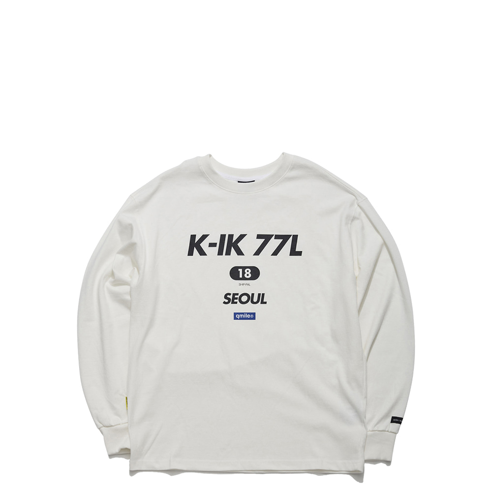 55A 18 ZOOWOOK T WHITE