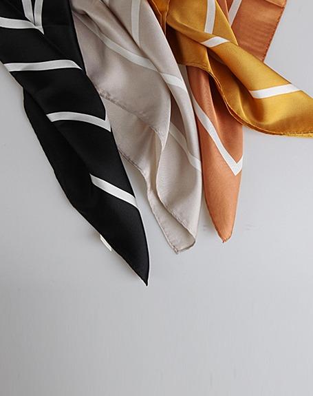 비우 scarf (옐로우 당일발송)