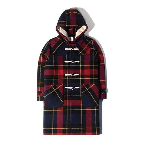 HT Tartan Duffle Coat (Red)