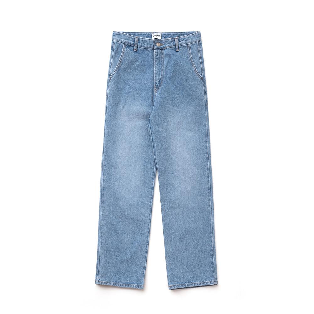 IG Light Washing Denim Pant (Blue)