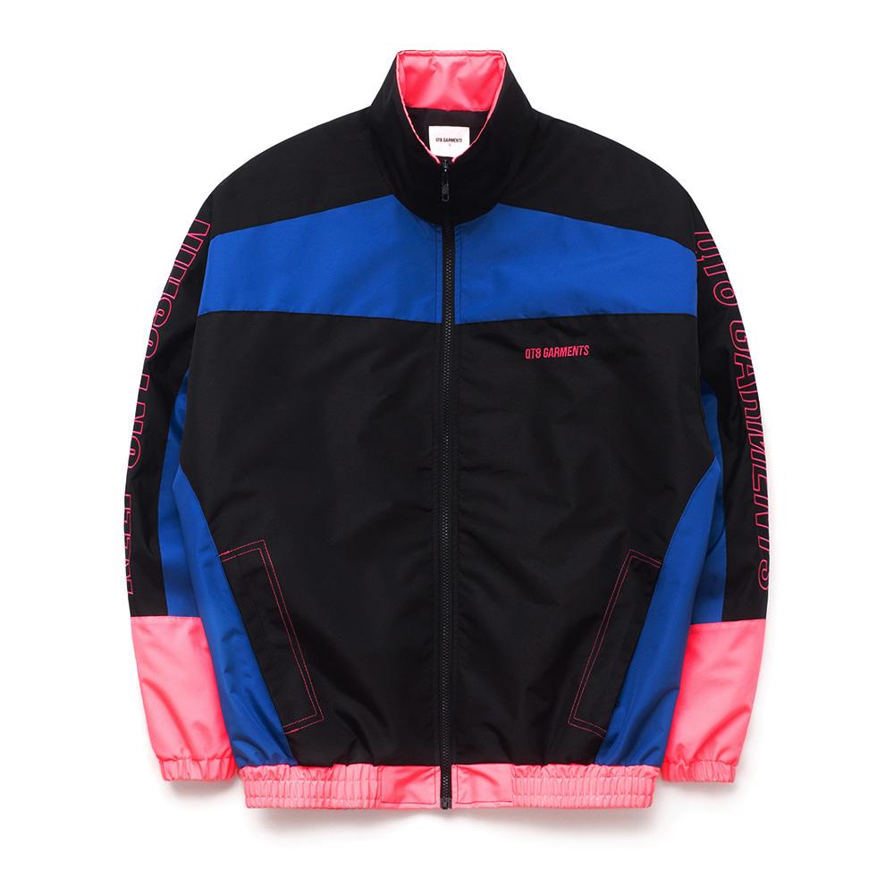 IG Retro Track Jacket (Black/Blue/Pink)