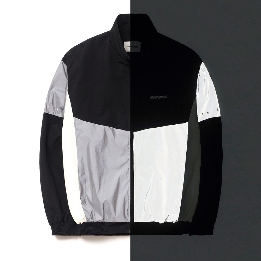 FG Reflective Old Track Jacket (Silver)
