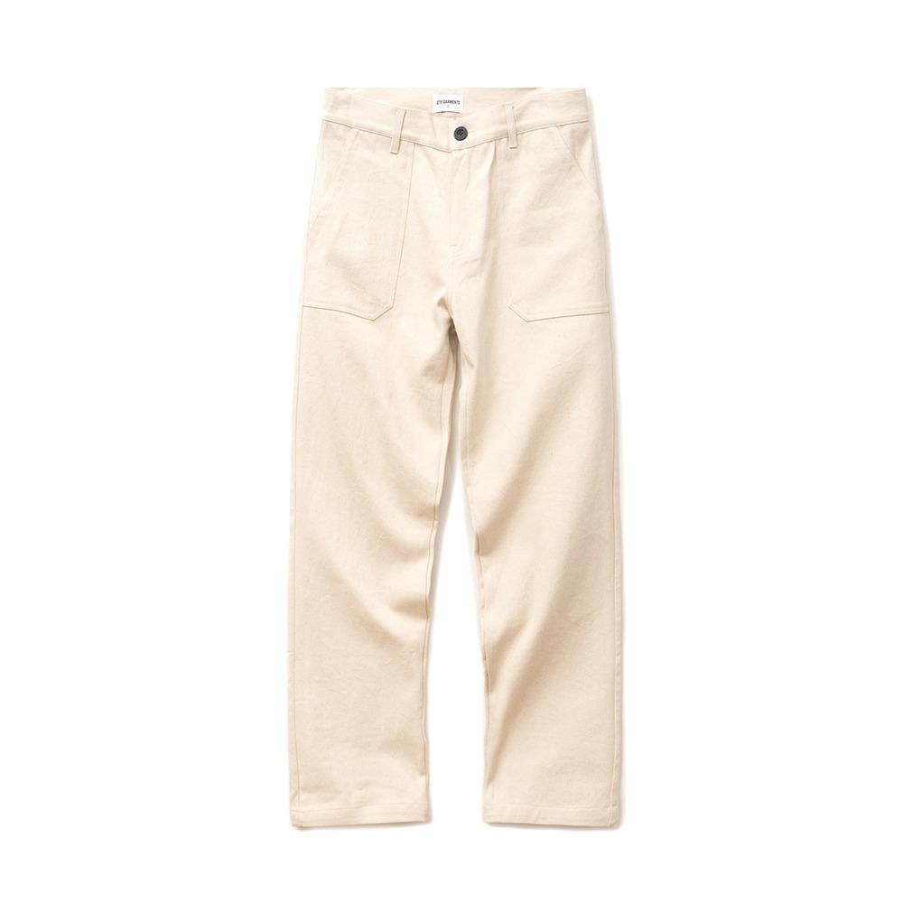 DA Cotton Fatigue Wide Pant (Oatmeal)