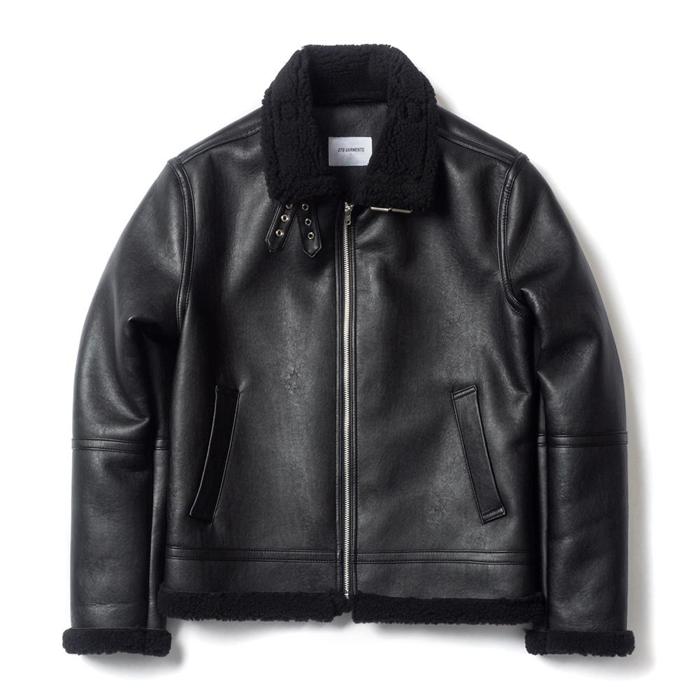 ND B-3 Mouton Jacket (Black)