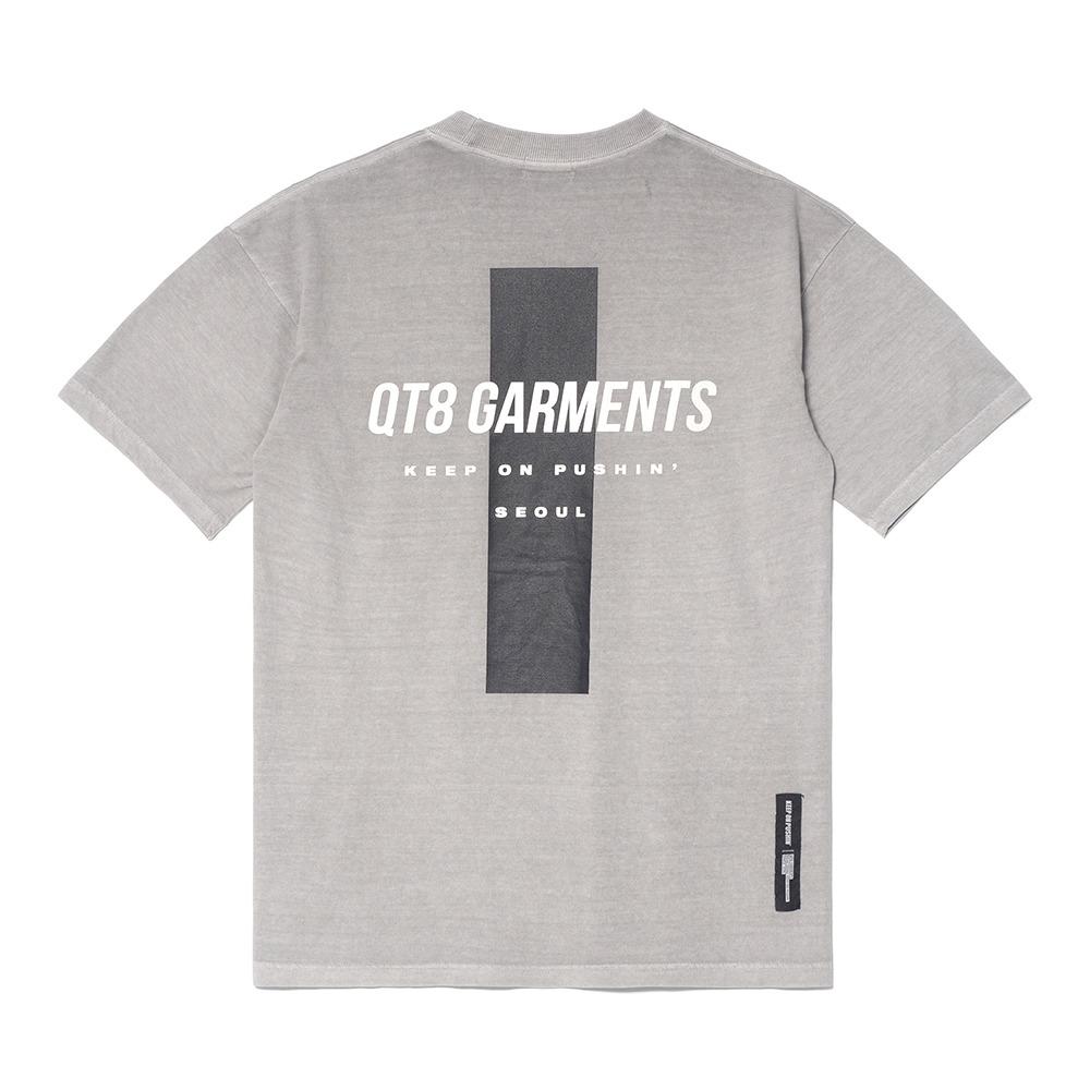 DA Pigment Cross Tee (Grey)