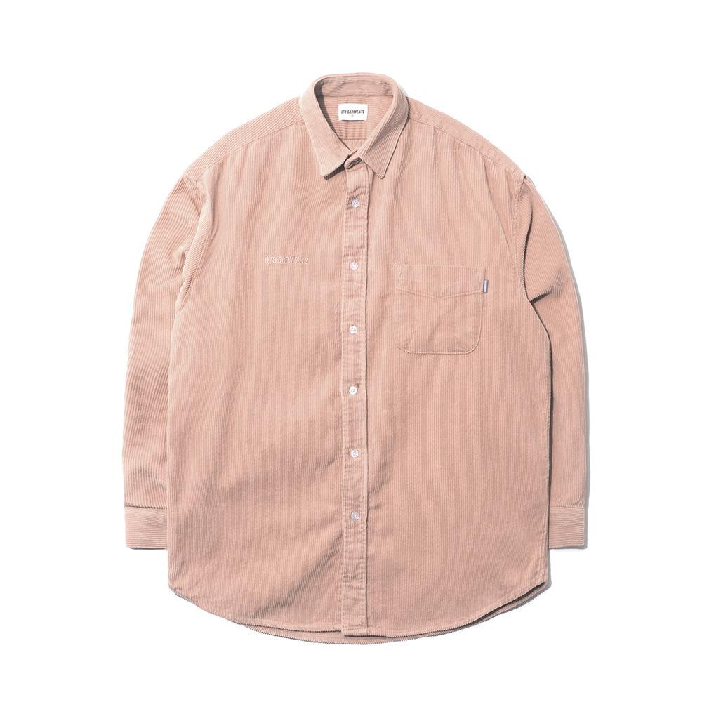MR Corduroy Oversize Shirt (Indipink)