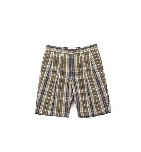 1403P 2P Chino Shorts Olive/Navy
