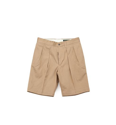 1402P 2P Chino Shorts Khaki