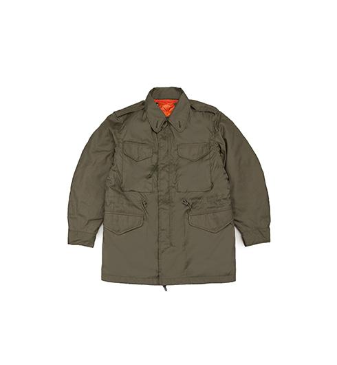 GT M51 Field Jacket with Orange Down Liner Olive